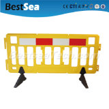 2m Plastic Crowd Control Barrier&Plastic Portable Barricade