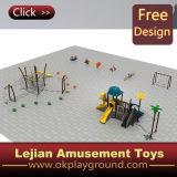 Ce Good Quality Children Outdoor Play Estrutura de plástico (X1502-8)