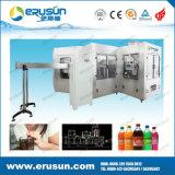 Máquina automática de bebidas de soda para botellas de PET de llenado monobloque