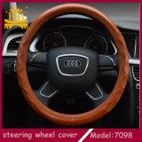 Coperchio popolare del volante dell'automobile della pelle di pecora dell'automobile di vendita calda