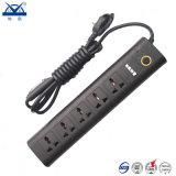 Socket eléctrico universal de múltiples funciones de la aleación ignífuga de la PC de la alta calidad