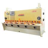上海BohaiのブランドQC11k 10 x 3200鋼板ギロチンのせん断、油圧せん断
