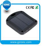 吸盤のWindowsセンサーLEDライトを持つ移動式太陽エネルギーバンクの充電器