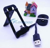 2 в 1 USB Data Cable Micro с Phone Holder