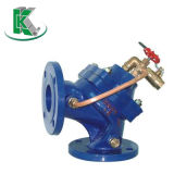 La válvula de control llano hidráulica (100A)