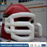Tenda gonfiabile del casco promozionale di inscatolamento del panno per i giochi che fanno pubblicità all'evento