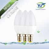 C37 G45 P45 A60 3W, 4W, 5W, 6W, 7W, 8W, 10W, matéria- prima do bulbo do diodo emissor de luz 12W com o UL RoHS do CE SAA