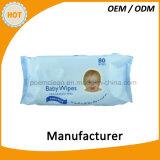Фабрика высокого качества сделала органические Wipes младенца