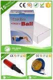 適性のロゴの半分のマッサージの球の体操の適性のヨガの球