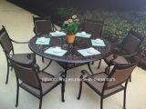 Hc-GF-D65鋳鉄またはアルミニウム庭の家具セット