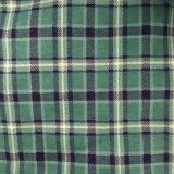 tissu estampé de flanelle de coton du tissu 2017winter pour des dames et des pyjamas et des vêtements de nuit des hommes