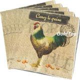 surtidor de papel China de las servilletas de cena de los 25*25cm