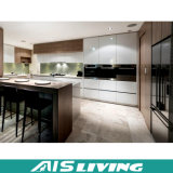 Hohe Glanz-Lack-Küche-Schrank-Möbel mit Insel-Schrank (AIS-K201)