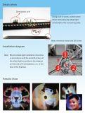 Het programmeerbare Kleurrijke Licht van het Wiel van de Fiets van de Fiets 216LED (Yq8008)