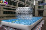 pista de aire inflable con la bola de balanceo para el parque de atracciones de los cabritos
