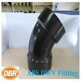 4 pouces Taille 1/8 Bend Type ABS Dwv Fitting