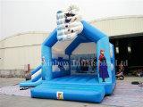 Projeto novo castelo Bouncy inflável de salto congelado do castelo