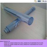 Крен PVC листа PVC голубой подкраской прозрачный