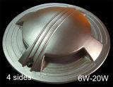 luz subterrânea da plataforma da opinião lateral da ESPIGA de 6W 220V para a iluminação da etapa