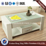 Table basse de thé de mélamine de meubles de salle de séjour de mode (HX-6M404)
