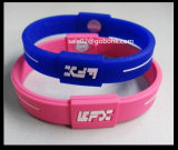 Bracelet de silicones de bracelet de silicones de qualité formant la machine