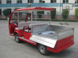 タブレット4seatが付いているハイブリッド発電機の電気観光バス