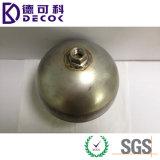 sfere del giardino delle sfere dell'acciaio inossidabile di 10cm che fanno galleggiare il metallo dello stagno decorativo