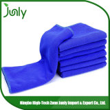 Toalhas de limpeza secas rápidas azuis do OEM melhores Microfiber para o carro