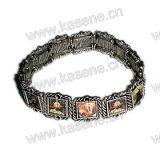 De heilige Gemengde Armband van de Rozentuin van het Metaal van de Beelden van Heilige Scherpe