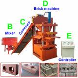 油圧出版物の自動LegoのロゴのVegoの煉瓦作成機械