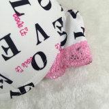 Neue Form für das gedruckte Yong-Mädchen-T-Shirt drücken Büstenhalter hoch