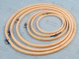 Aro de bordado de bambú de la alta calidad, aro de bambú para el bordado, aro redondo