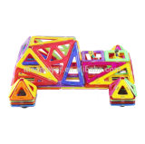 Kidsのための卸し売りDIY 258 PCS Rail Car Set Magnetic Educational Toys