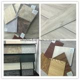 Protection de l'environnement, plancher résistant à l'usure de feuille de PVC d'isolation imperméable à l'eau et saine