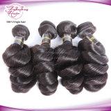 100%のカンボジアの人間の毛髪の緩い波のRemyの毛