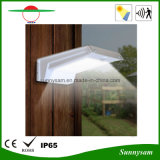 Indicatore luminoso solare esterno della parete del sensore di movimento della lampada PIR di paesaggio