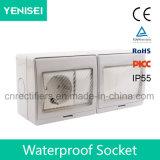IP55 Waterproof o interruptor e o Soocket