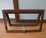 Окно тента профиля высокого качества Kz350 алюминиевое деревянное с мотылевым замком