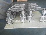 API609 de Vleugelklep van het Handvat van het Roestvrij staal van de Verbinding van het metaal