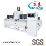 유리제 가구를 위한 3 측 CNC 유리제 경사지고는 및 예리하게 하는 기계
