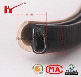 De acordo com sua tira da selagem da canaleta em U do PVC do produto das amostras