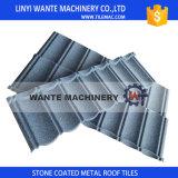 Azulejo de azotea revestido del metal de la piedra de calidad superior, azulejos de material para techos revestidos de piedra del metal