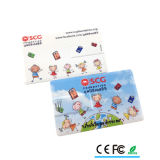 USB relativo à promoção do cartão de crédito do logotipo feito sob encomenda novo
