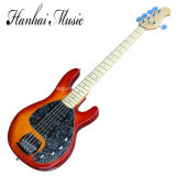 Guitare basse électrique de couleur de CS musique/5-String de Hanhai