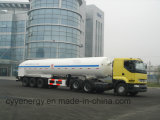 中国ASME GBの2015 LNG Lox Tank Car Semi Trailer