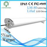 Nueva luz del tubo de la Tri-Prueba del diseño LED por libre