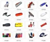 Plastik-USB-Blitz-Laufwerk-Flash-Speicher mit kundenspezifischem Firmenzeichen (ET066)