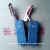 Escovas de carvão grafite macio usados na Usina (NCC634)