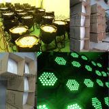 DMX RGB 3in1 54X3W PAR 64 Etapa de iluminación LED