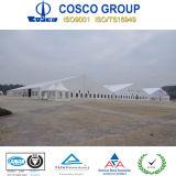 Großes Aluminiumrahmen Belüftung-Partei-Zelt mit Beleuchtung und Bodenbelag